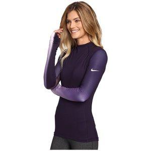Nike Pro Women's Hyperwarm Long Sleeve Fade Top